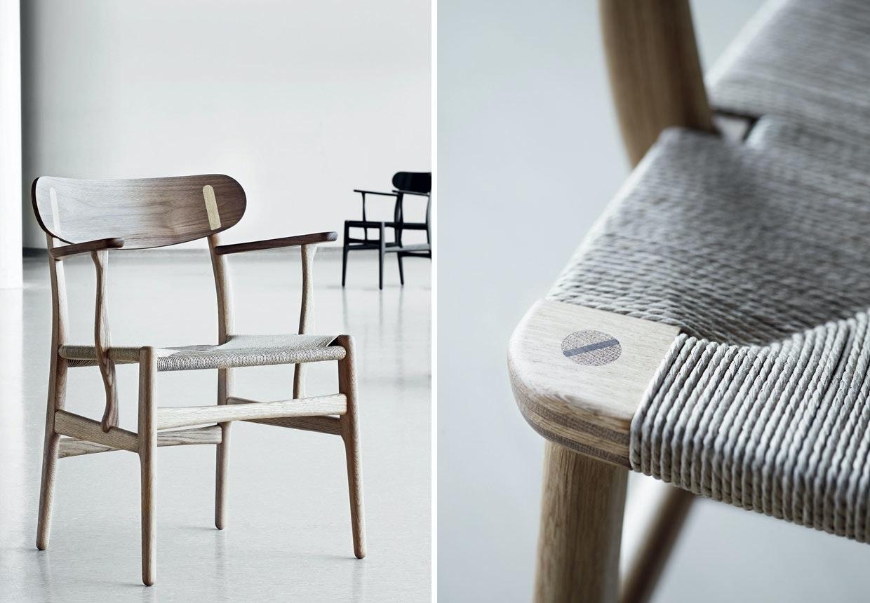 CH22-loungestol af Hans J. Wegner