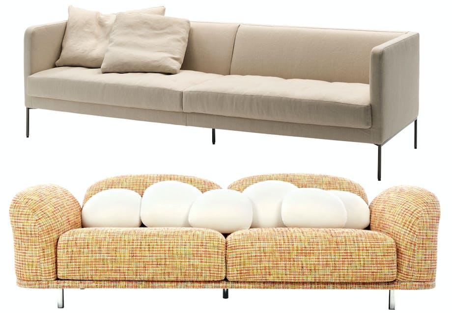 Farverig Cloud-sofa for Moooi