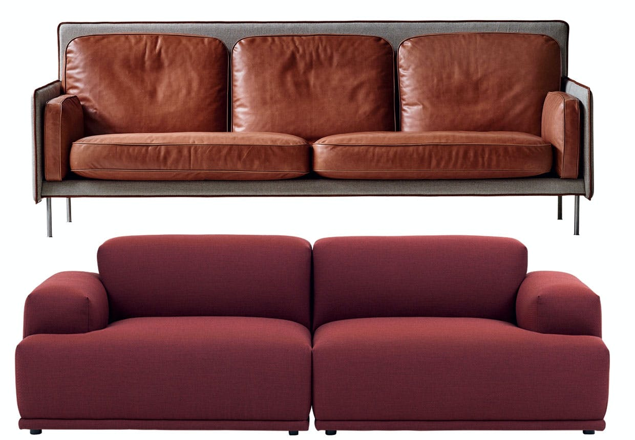 Connect-sofa fra Muuto
