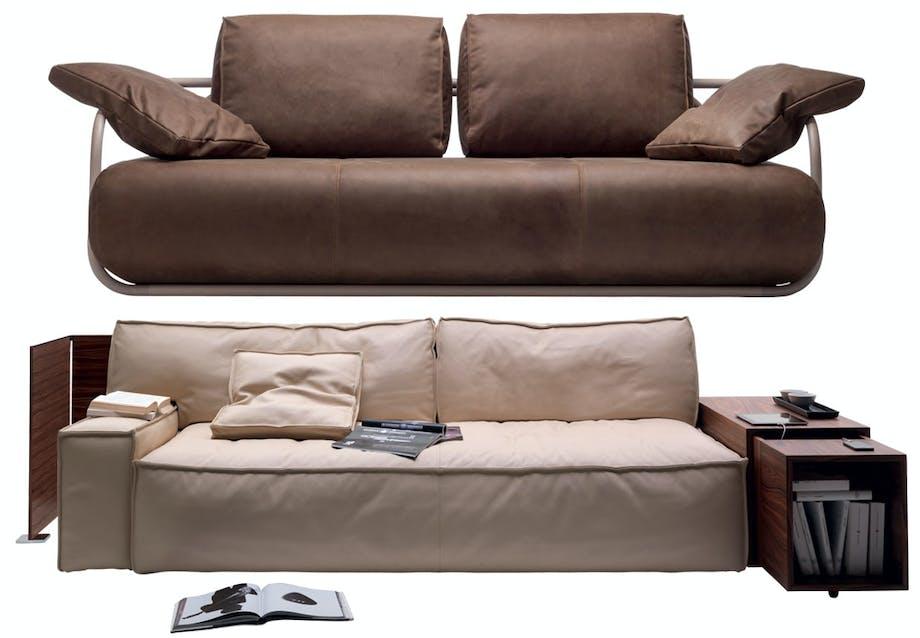Fleksibel og autentisk sofa