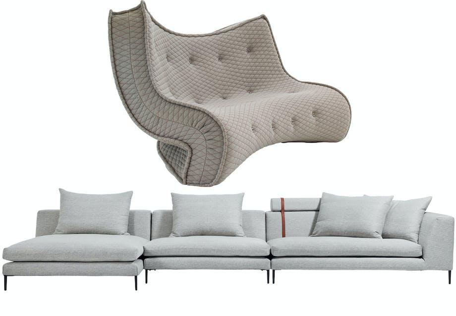 En sofa for de modige