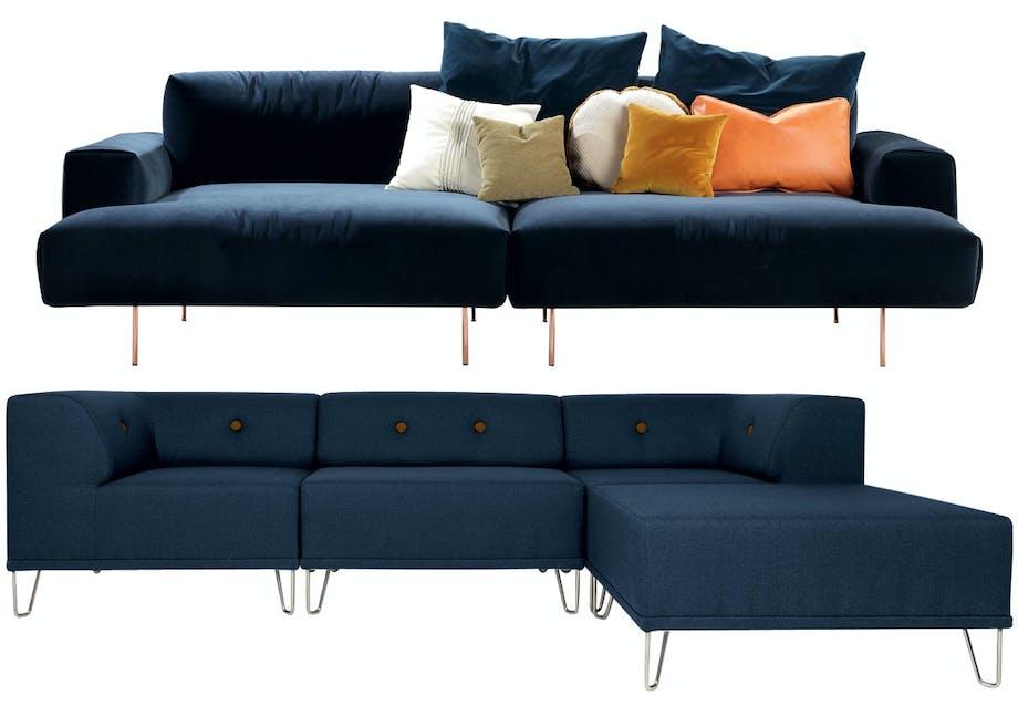 TipToe-sofa fra Sanval