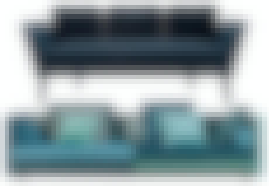 Farverig Cocoon-sofa fra Eilersen