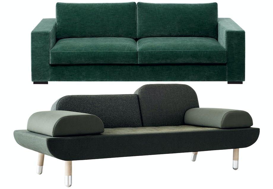 Toward-sofa af Anne Boysen