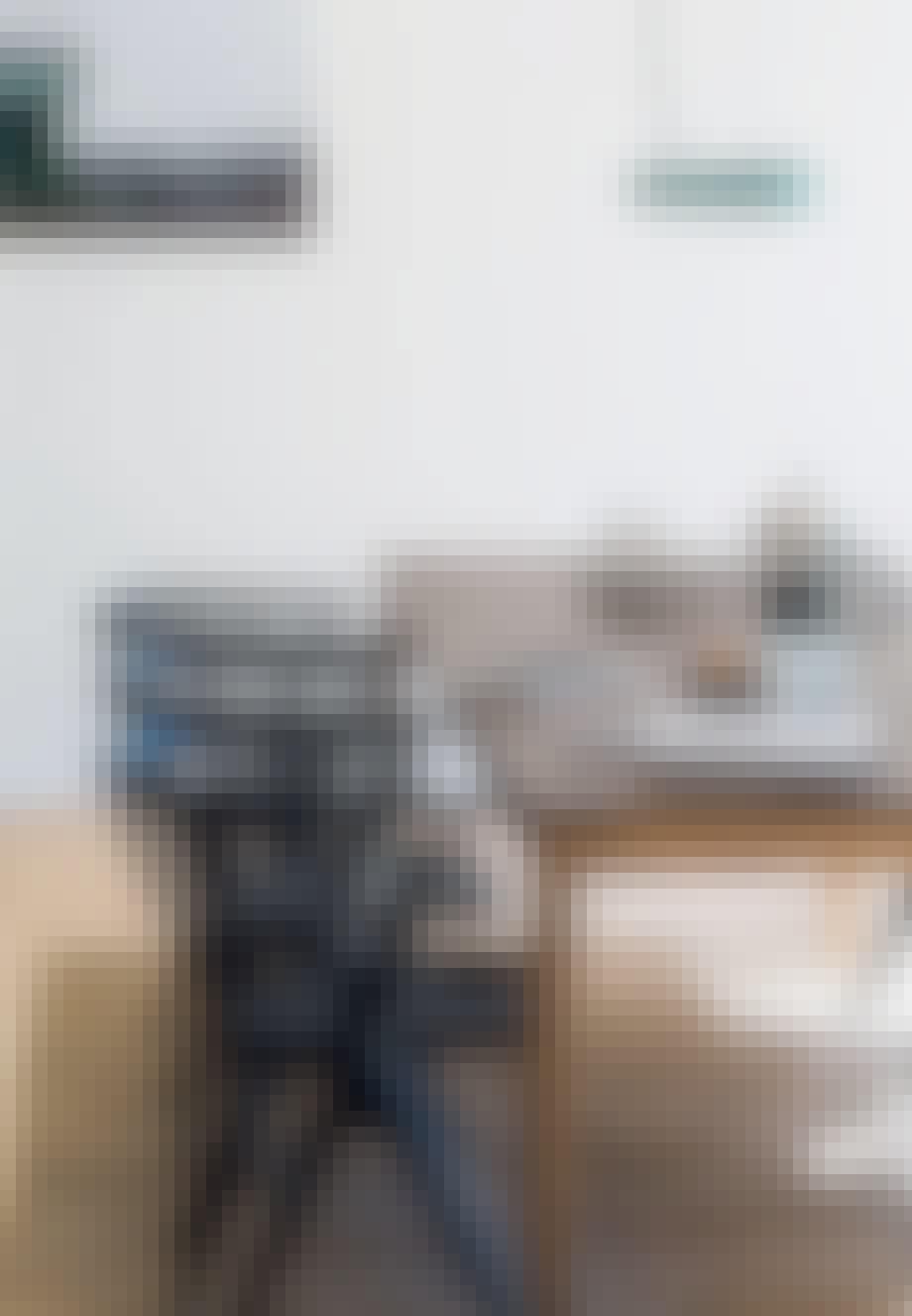 Sortlakerede stole af Sibast Furniture