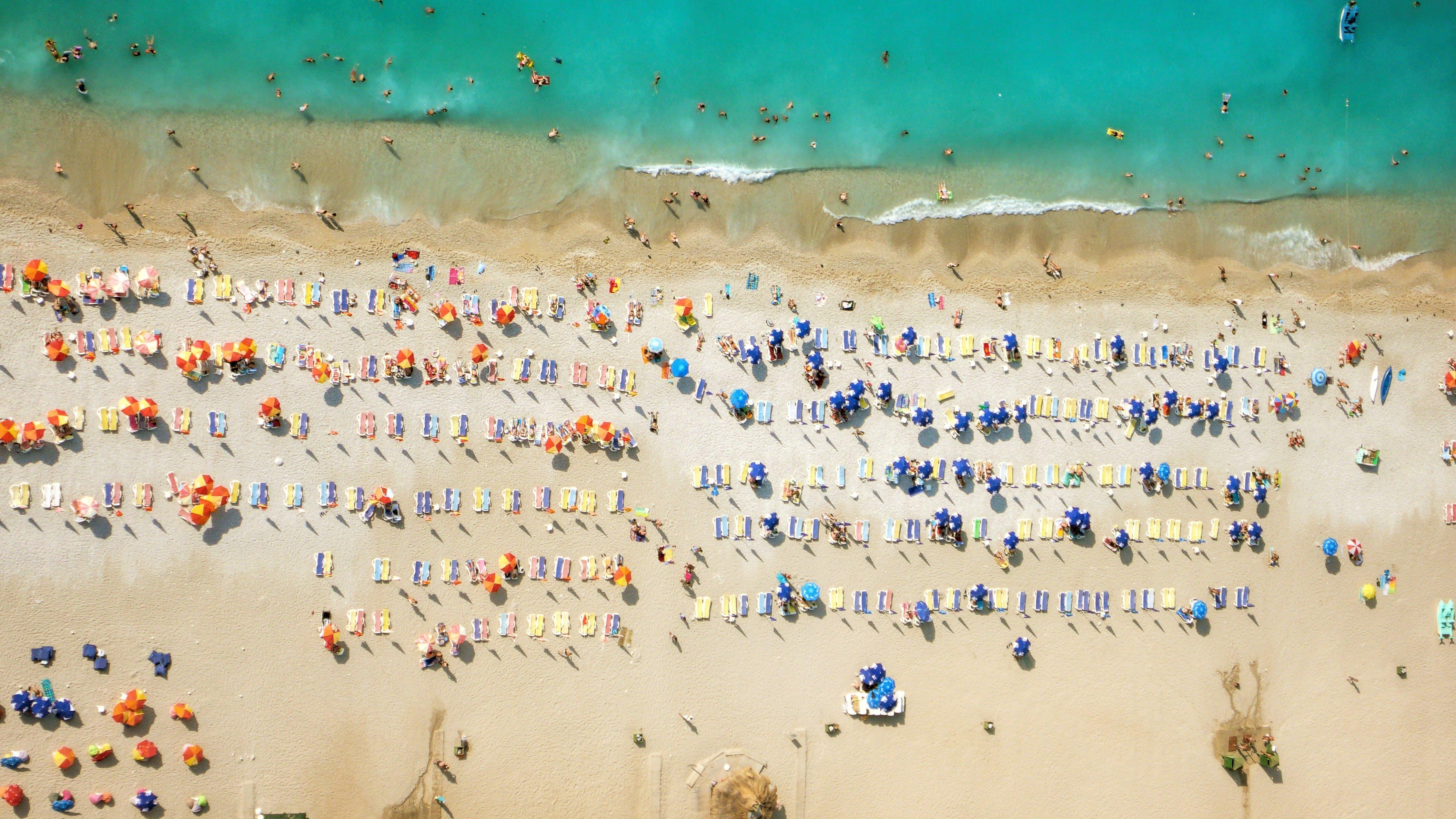 En strand i Tyrkiet