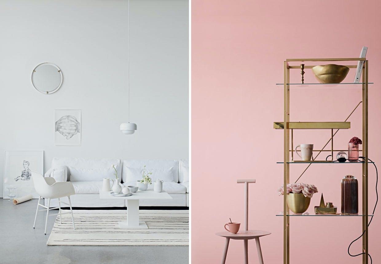 Fire boliguniverser med skandinavisk stil