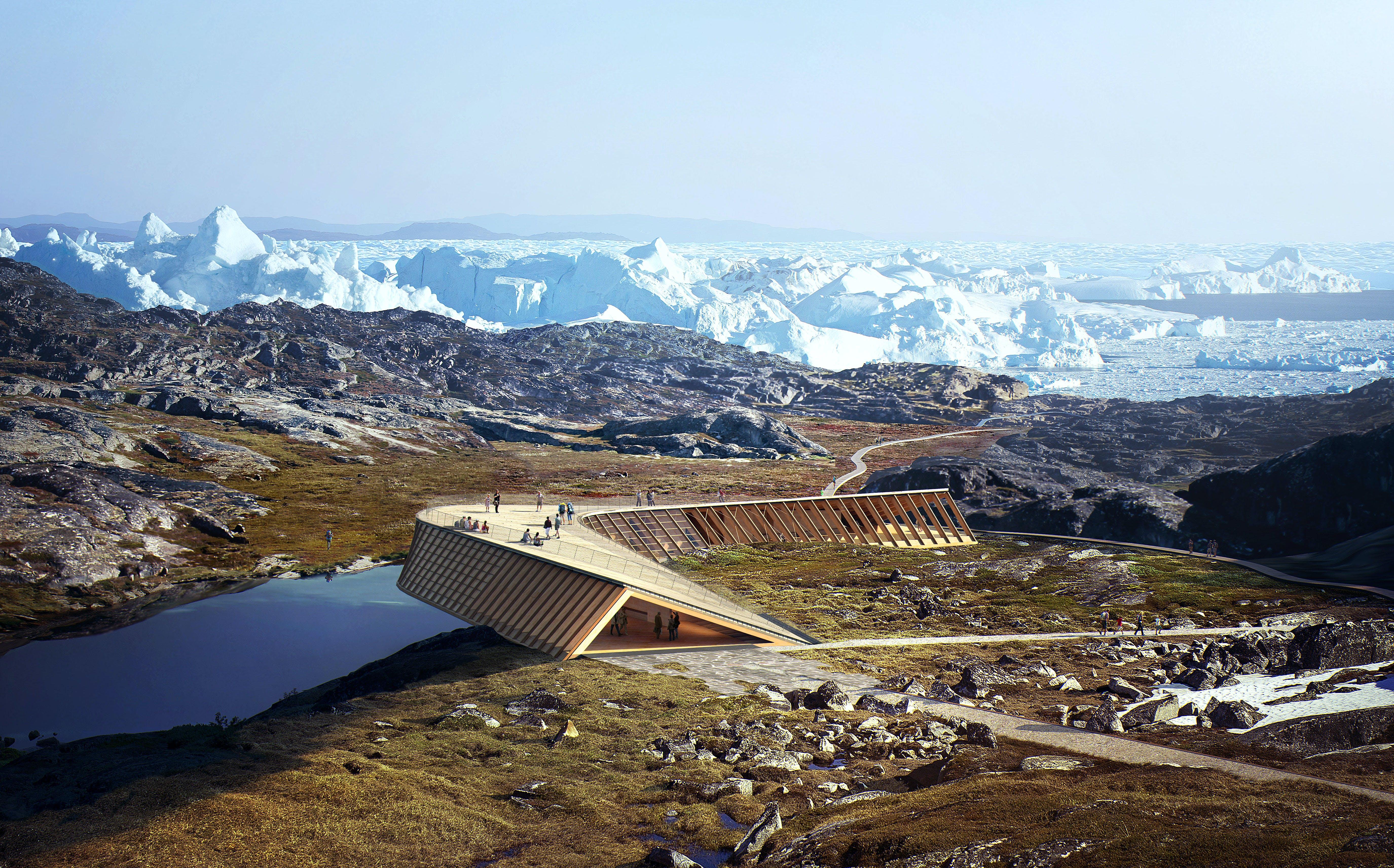 Prestigebyggeri midt i UNESCO-fredet landskab