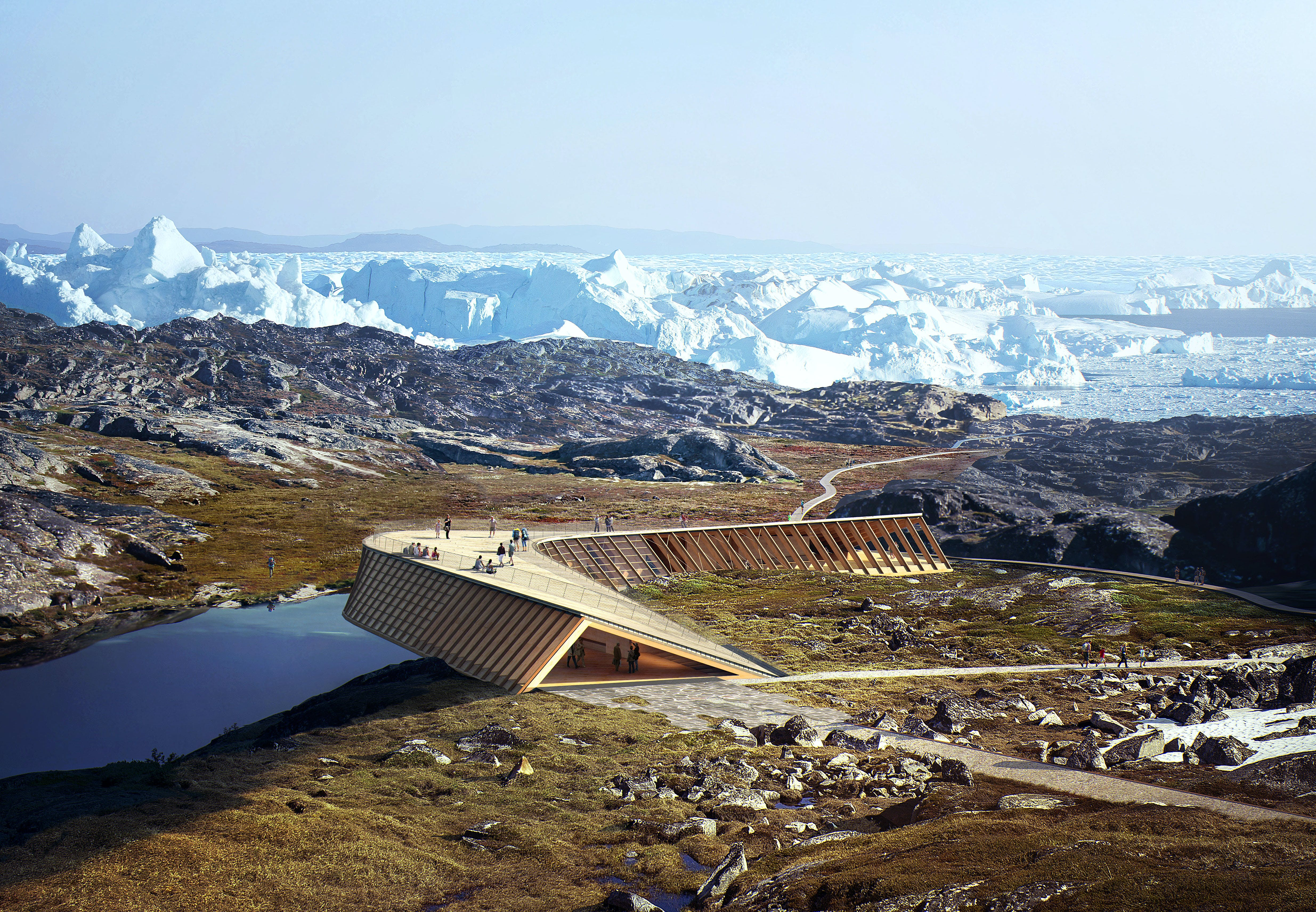 Dorte Mandrup Arkitekter skal opføre UNESCO-center I Ilulissat, Grønland