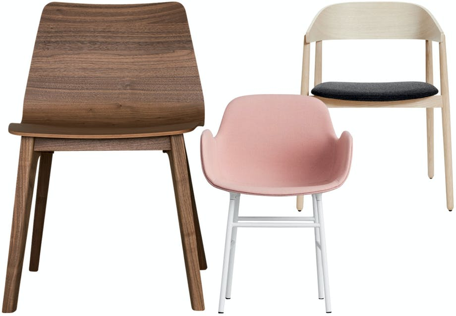 Spisebordsstole med god siddekomfort
