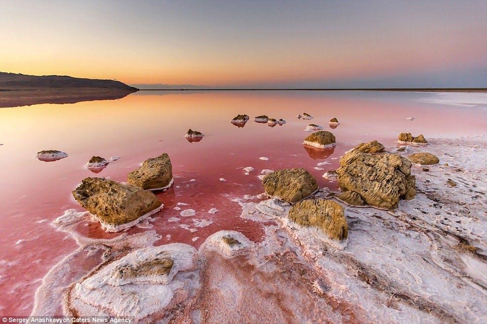 Koyashskoye Salt Lake, Krim
