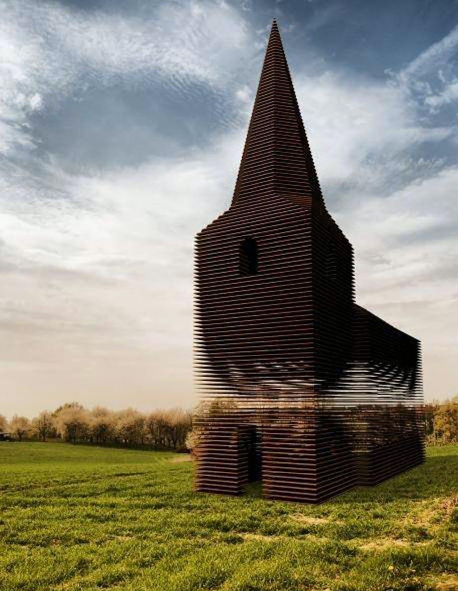 Den gennemsigtige kirke
