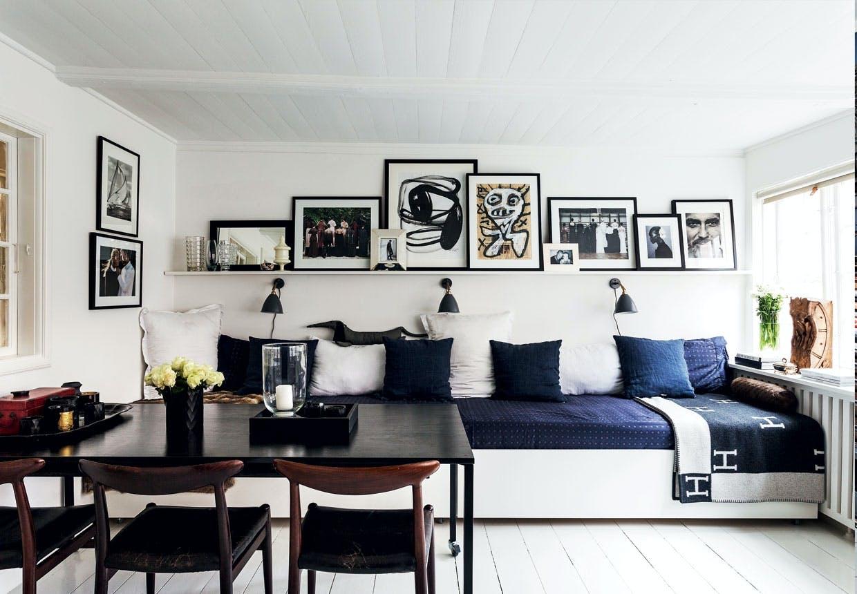 Specialdesignet sofa med opbevaring