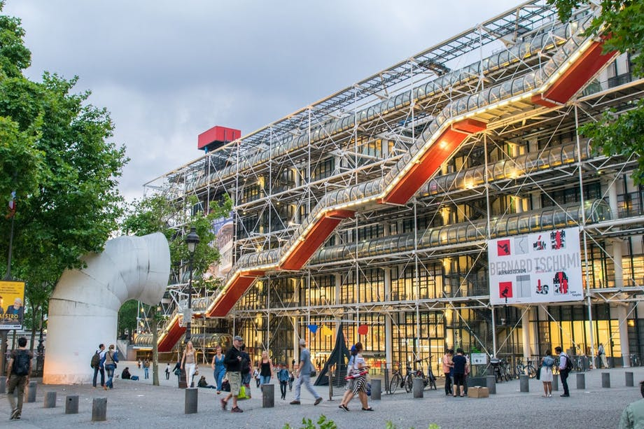 2. Centre Georges Pompidou, Paris