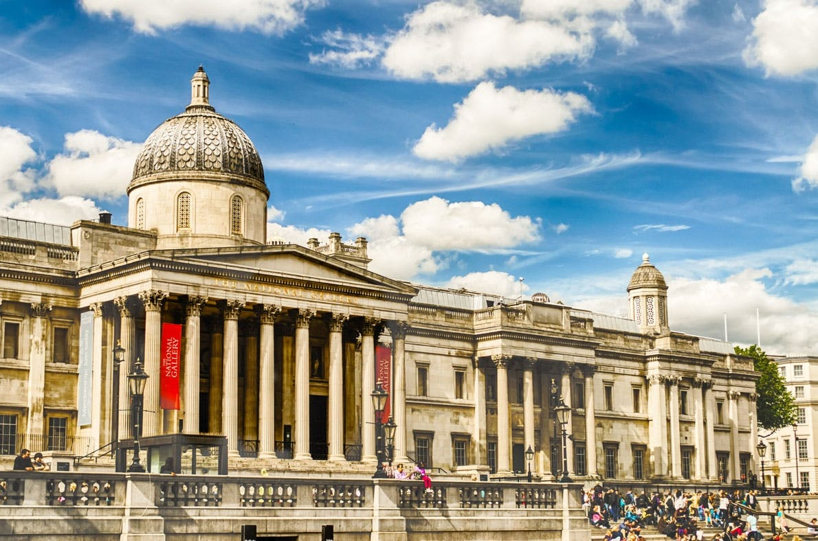 National Gallery London - museer i Europa
