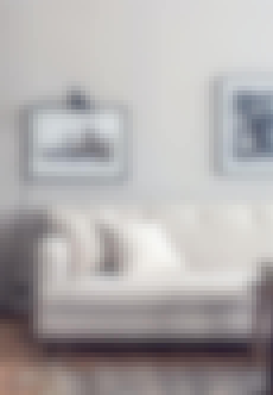 Elegant enkelhed i stuen