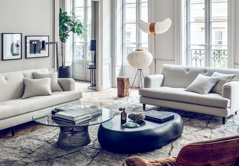 Duoen bag indretningsbrandet Maison Hands elegante lejlighed i hjertet af Lyon