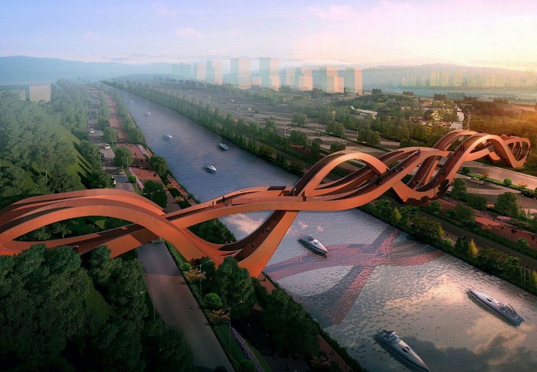 Next architects - bro i Kina ved Changsa.