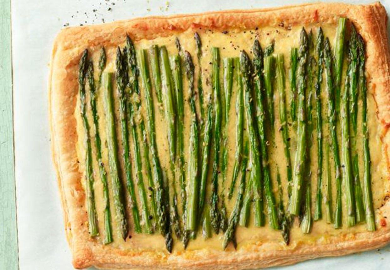 Tærte med asparges