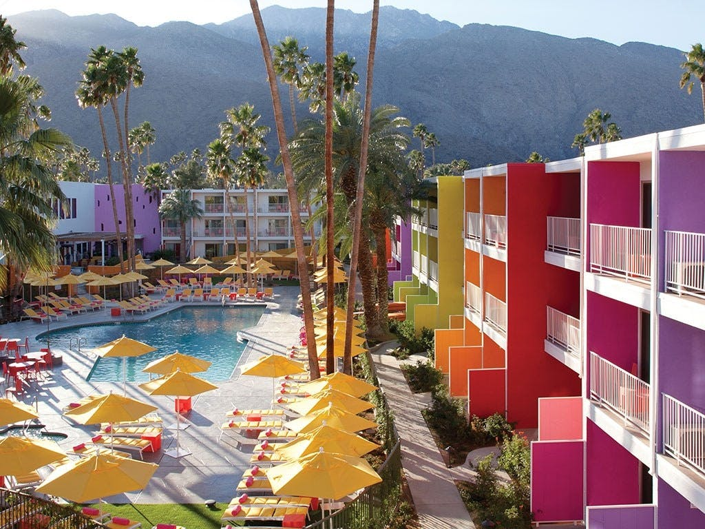The Saguaro Hotel, Palm Springs, Californien