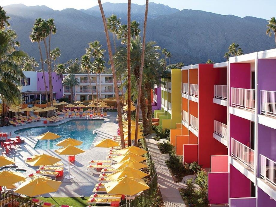 The Saguaro Hotel, Palm Springs, Californien
