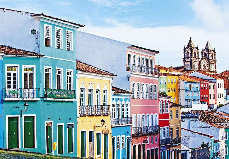 De mest farverige byer i verden
