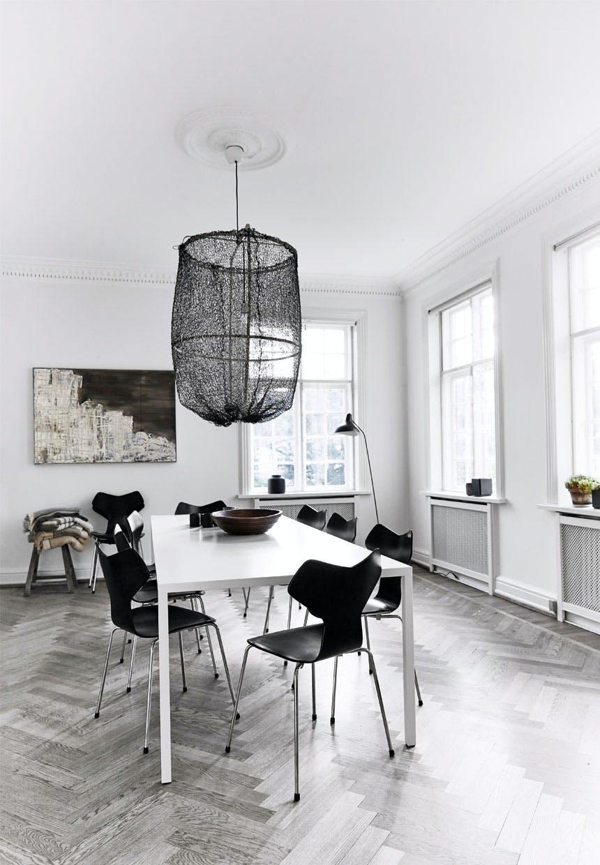 Grand Prix-spisebordsstole fra Fritz Hansen