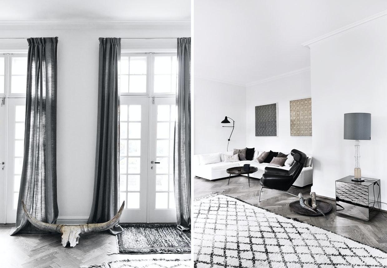 Hanne Berzants hjem i nordisk stil