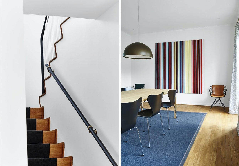 Arkitekttegnet hus af Arne Jacobsen