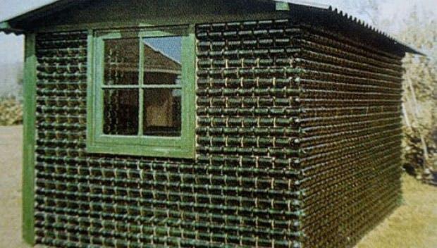 Sådan så et hus af Heineken ud