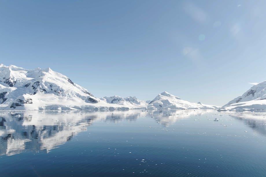 Tag på eventyr i Antarktis
