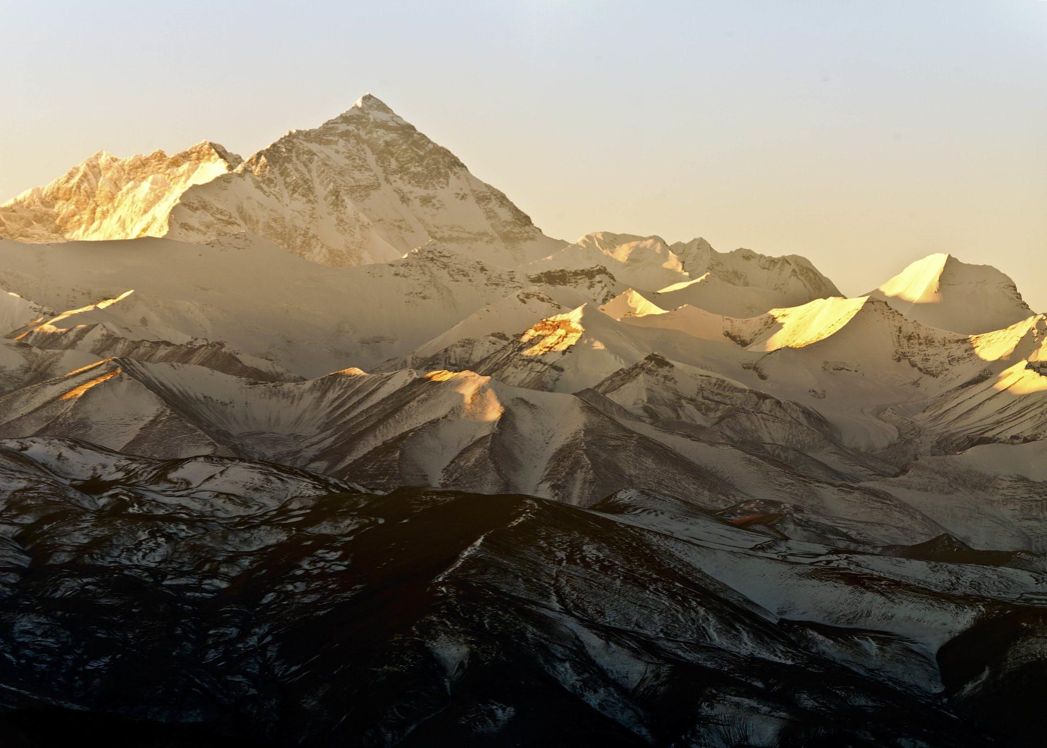 Bestig Mount Everest