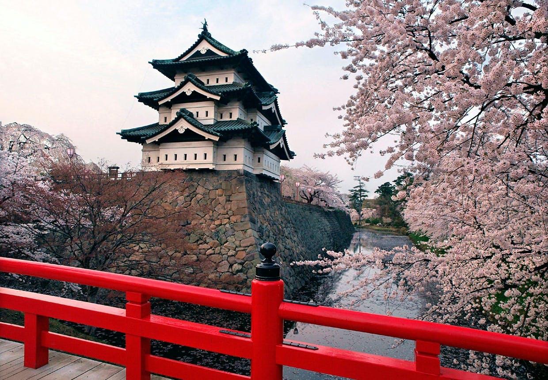 Hirosaki slottet