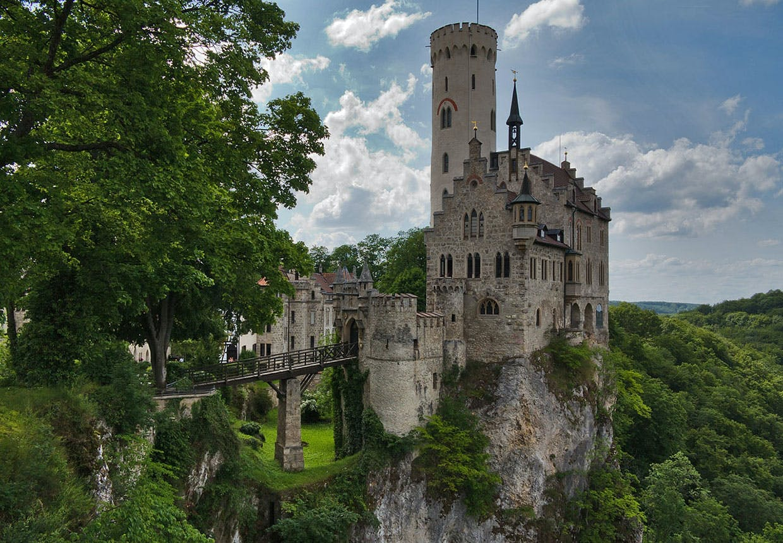 Lichtenstein-slottet fra Württemberg