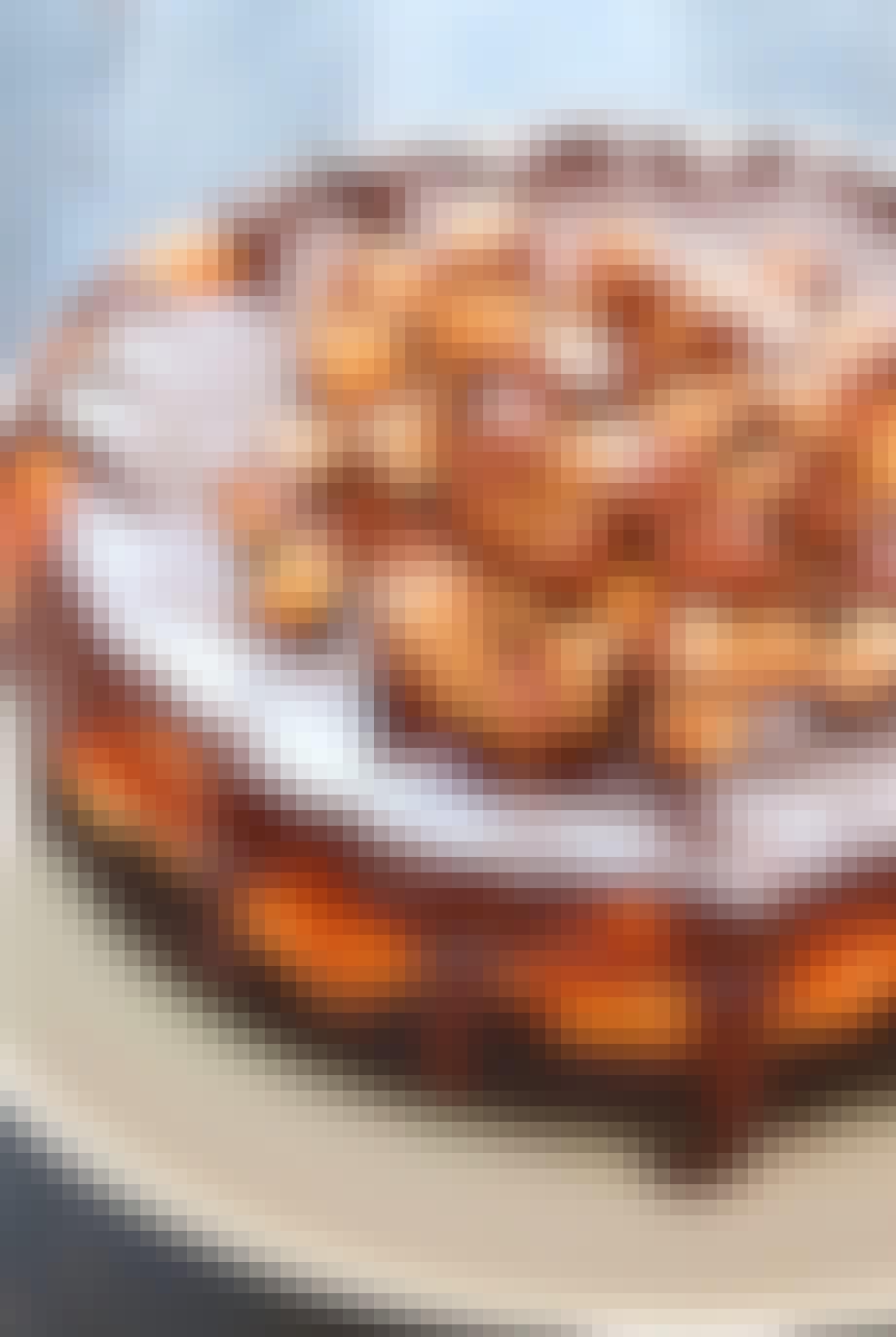 Snickers-cheesecake - sådan gør du