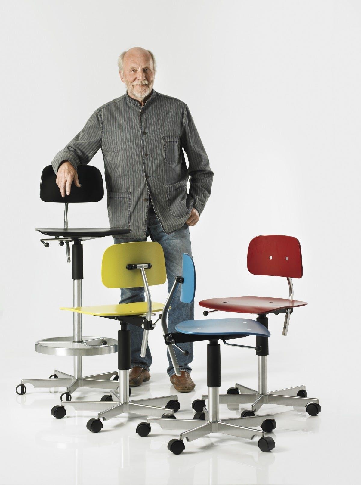 Bag om ikonisk stol
