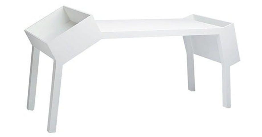 Asymetrisk skrivebord