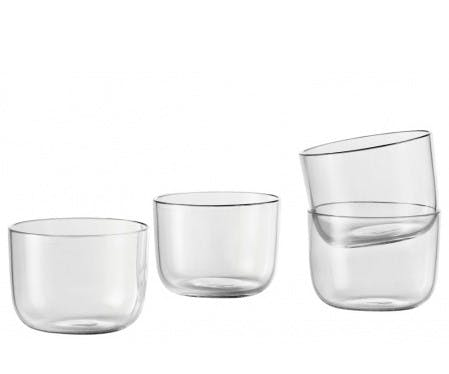 Buttede corky glas fra Muuto.