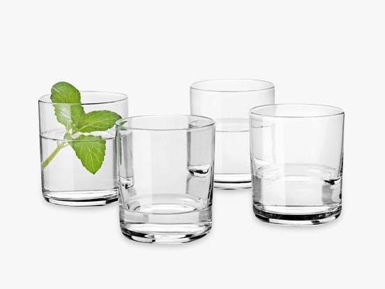 Enkle glas fra Stelton.