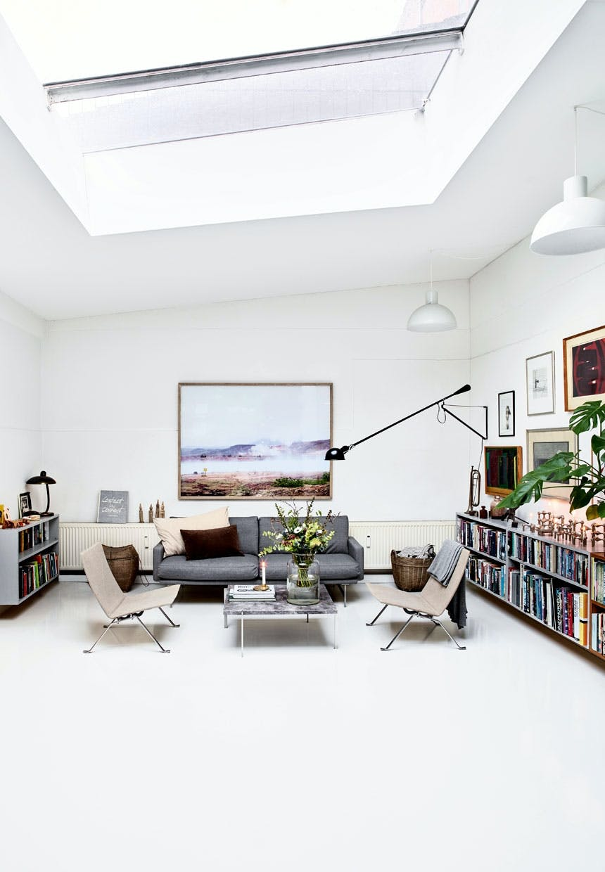 Meterhøjt til loftet