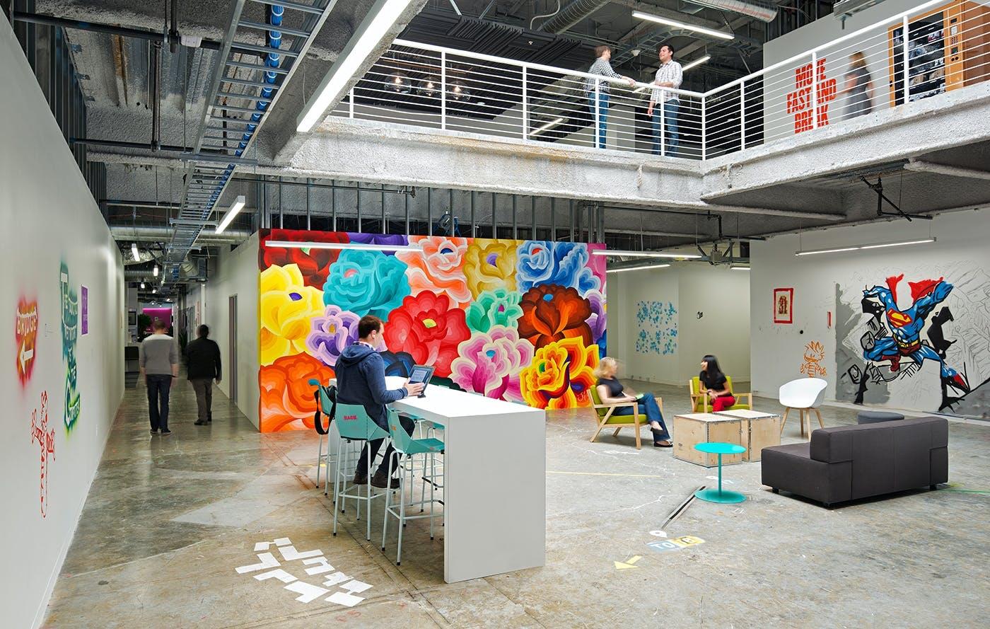 Facebook: Det største åbne kontorlandskab i verden