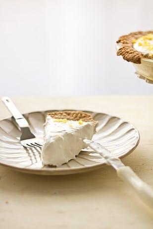 Opskrift på cheesecake med citron og ingefær