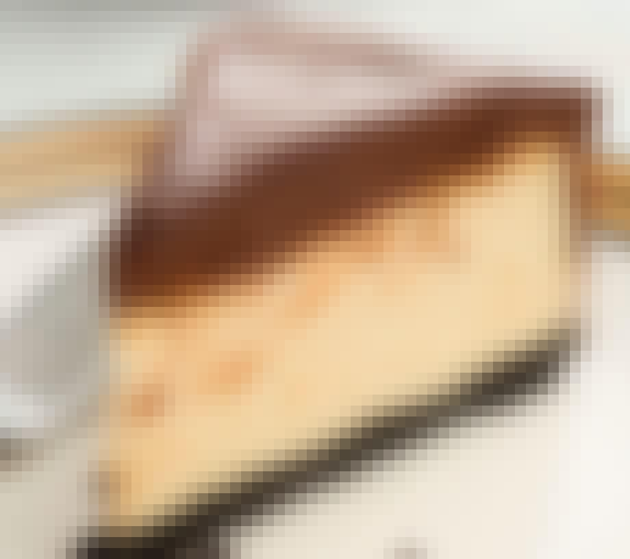 Servér cheesecaken