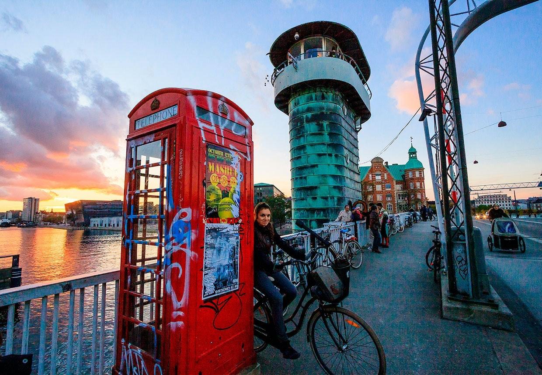 Danske telefonbokse - mønttelefoner
