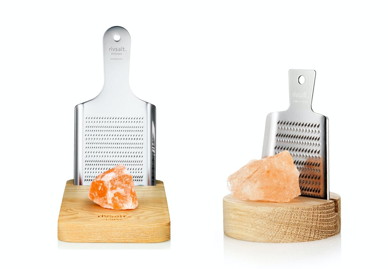 Rivsalt rivejern til krystalsalt i to versioner