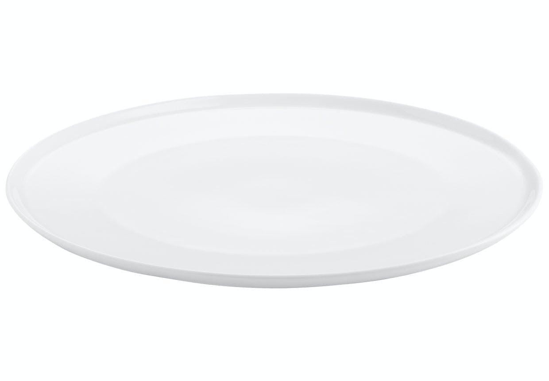 Hvid middagstallerken fra Aida