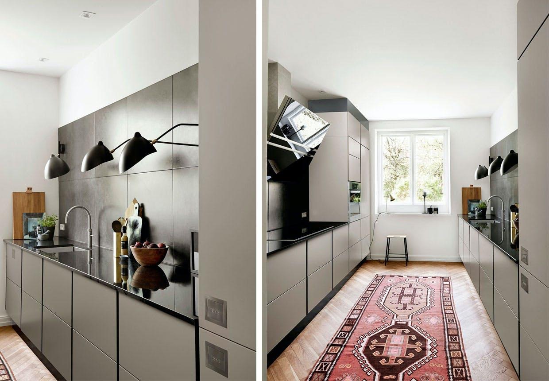 Culture - nyt køkken i moduler fra Tvis Køkken - med stilfuld indretning.