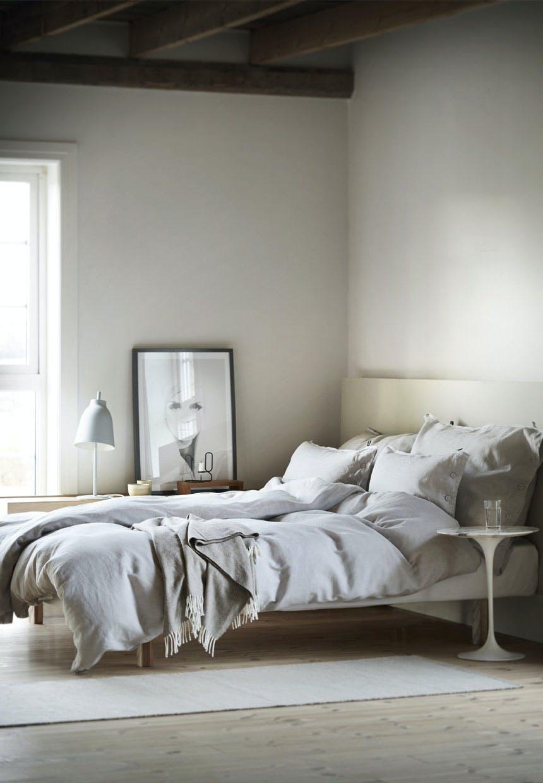 Nordisk stemning i soveværelset