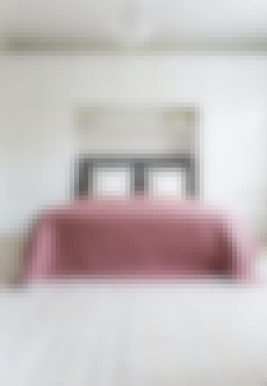 Hotelstemning i feminine toner