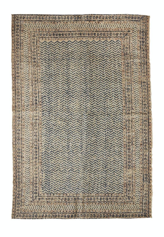 Håndvævet tæppe fra Madam Stoltz